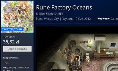 Rune Factory Oceans na promocji